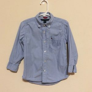 Tommy hilfiger button down shirt 2T